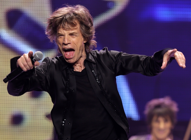 Rolling Stones Perform In Concert At TD Garden